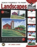 Teach Yourself to Paint Landscapes, Linda Lover, 1601400675