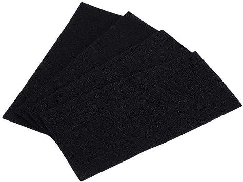 Tangxi 4 Piezas de filtros de Esponja de Carbono, Accesorios de purificador de Aire de Repuesto Esponja de Aerosol ...