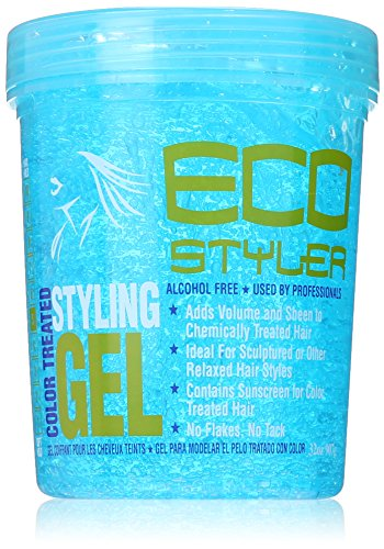 ECOCO Eco Style Gel, Blue, 32 Ounce (Best Eco Styler Gel For 4a Hair)
