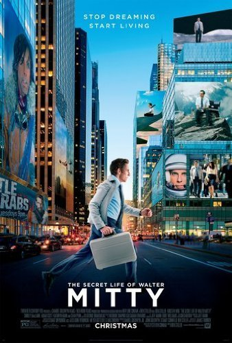 secret life of walter mitty movie poster