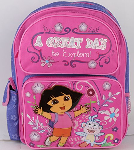 - Dora the Explorer Medium Backpack A Great Day 14