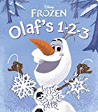 """Olaf's 1-2-3 (Disney Frozen) (Glitter Board Book) by RH Disney (2013) Board book"""