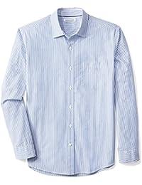 Men's Regular-Fit Long-Sleeve Stripe Shirt