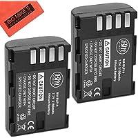 BM Premium 2-Pack of DMW-BLF19, DMW-BLF19e, DMW-BLF19PP Batteries for Panasonic Lumix DC-GH5, DMC-GH3, DMC-GH3K, DMC-GH4, DMC-GH4K Digital Camera