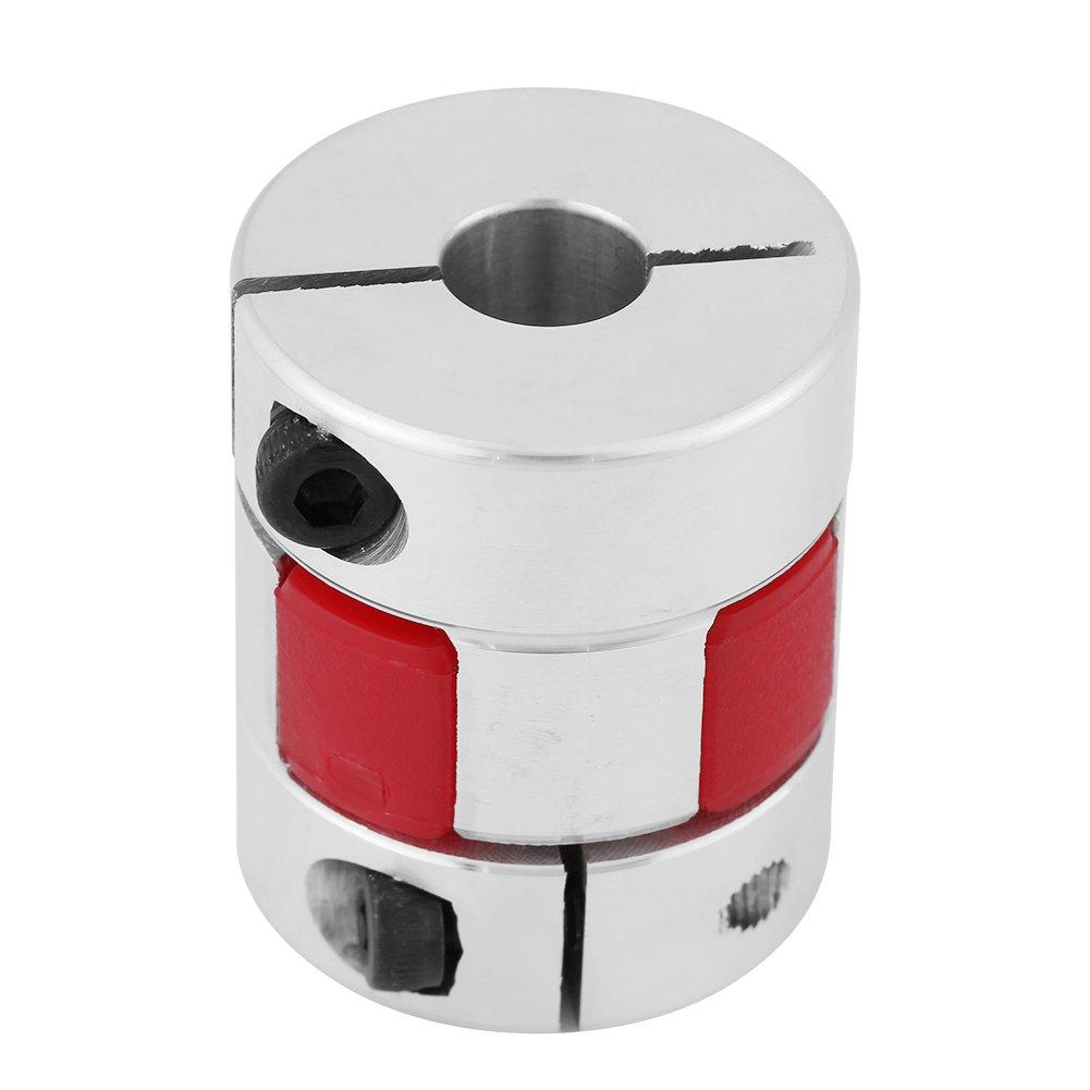 maquinaria hidr/áulica 10mm-10mm compresores aleaci/ón de aluminio Acoplador de acoplamiento de eje de ciruela Conecte D25 L30 para bombas Eje de acoplamiento de ciruela ventiladores
