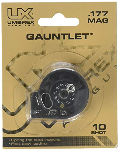 (Umarex Gauntlet .177 Caliber Pellet Rifle 10 Shot Replacement Magazine)