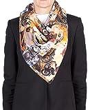 Versace ''Evil Knievel'' Pattern Silk Scarf