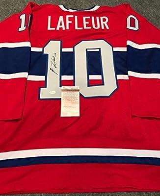 Guy Lafleur Autographed Signed Montreal Canadiens Jersey Jsa Coa
