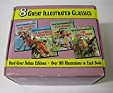 img - for Great Illustrated Classics 8-Volume Set: Tales of Mystery and Terror; White Fang; Ivanhoe; The Hunchback of Notre Dame; The Jungle Book; The Secret Garden; The Wind in the Willows; Hans Brinker (Complete 8-Volume Set of E Series: E224-33 Thru E224-40) book / textbook / text book