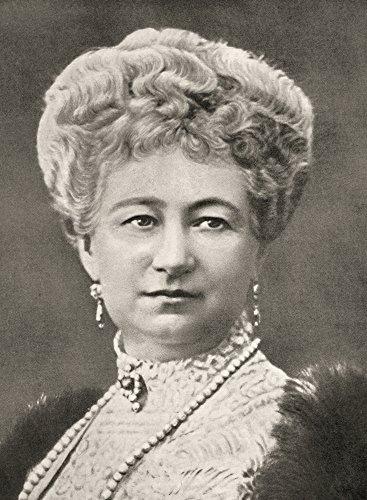 (Posterazzi Augusta Victoria Of Schleswig-Holstein 1858 1921. Last German Empress And Queen Of Prussia. From La Esfera 1914. Poster Print (12 x 17))
