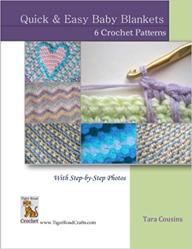Quick Easy Baby Blankets 6 Crochet Patterns With Step By Step