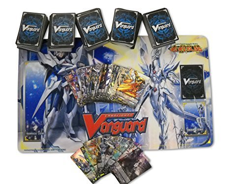 500 Cardfight Vanguard Cards with Playmat and Rares by Cardfight Vanguard