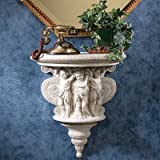Design Toscano Cherubs of the Wine Harvest Sculptural Wall Console