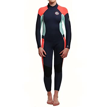 24941d0666 RIP CURL Womens Dawn Patrol 5 3MM Gbs Back Zip Wetsuit Navy -With Easy