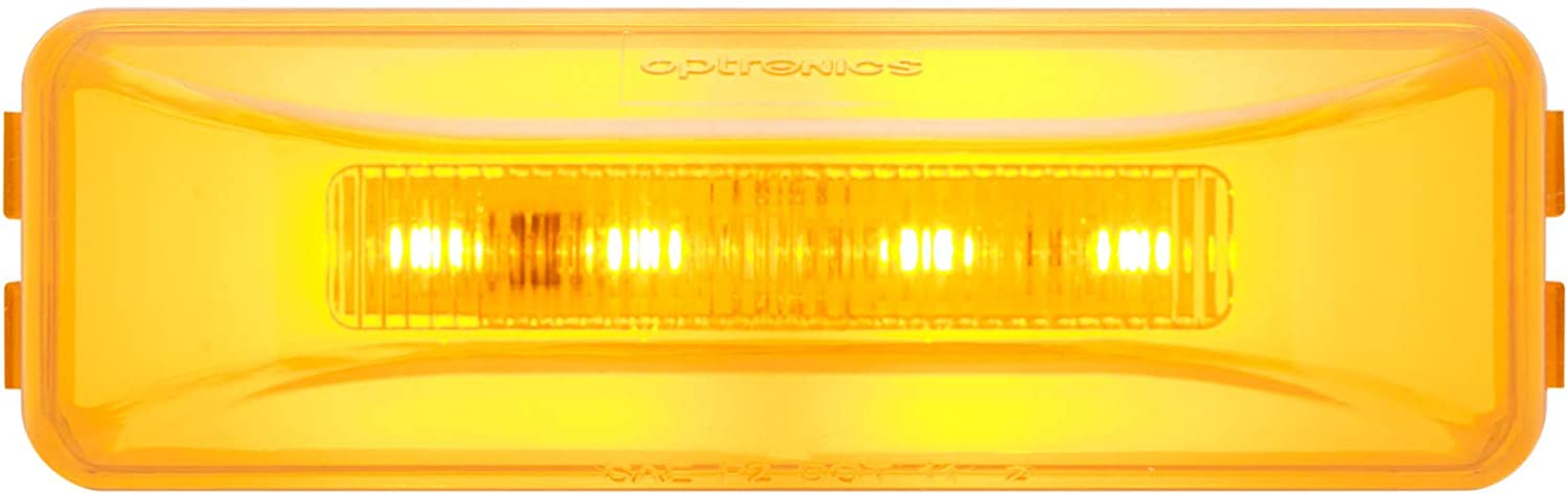Optronics MCL165RBP Red LED Marker//Clearance Light Glolight Thinline Sealed