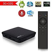Mecool M8s Pro L Android 7.1 TV Box 3GB RAM 32GB ROM With Voice Control Remote Octa Core Bluetooth 4.0 Dual 2.4G/5G Wifi 4K UHD Supported