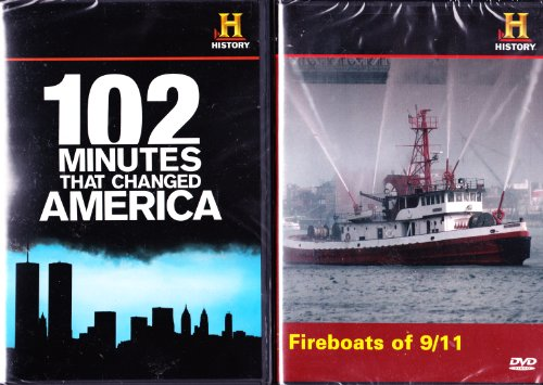 - The History Channel : 102 Minutes That Changed America , Fireboats of 9/11 : September 11 , World Trade Center 2 Pack Collection