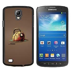 """Be-Star Único Patrón Plástico Duro Fundas Cover Cubre Hard Case Cover Para Samsung i9295 Galaxy S4 Active / i537 (NOT S4) ( Cerebro Auriculares Música Arte Vibes Dibujo"""" )"""