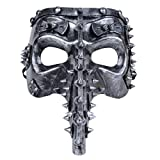 Coxeer Steampunk Mask Masquerade Mask Creative Beak Party Mask for Halloween Costume