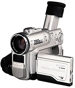 Sharp VLWD255U MiniDV Digital Camcorder with 2.5'' Viewscreen, Smart Media Slot and Built-in Digital Still Mode (Discontinued by Manufacturer)