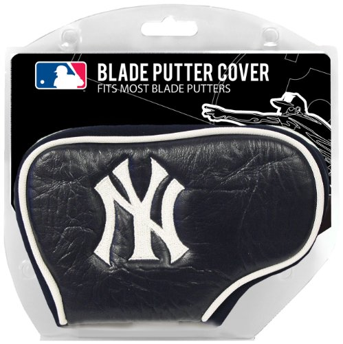 Team Golf MLB New York Yankees Golf Club Blade Putter Headcover, Fits Most Blade Putters, Scotty Cameron, Taylormade, Odyssey, Titleist, Ping, Callaway ()