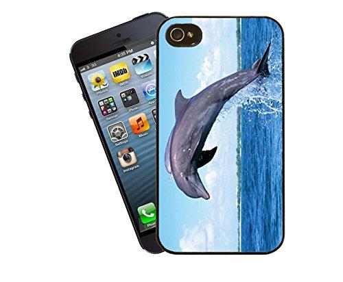 Delphin-iPhone-Tasche - passen diese Abdeckung Apple Modell 4 und 4 s - von Eclipse-Geschenk-Ideen