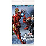 "Marvel Avengers Plastic Tablecloth, 84"" x 54"""