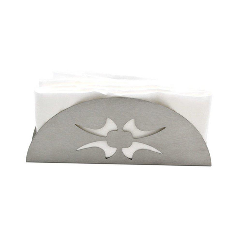 secci/ón OUNONA Servilletero de acero inoxidable con soporte para pa/ñuelos de papel