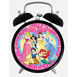 Disney Princess Alarm Desk Clock 3.75 Home or Office Decor W70 Nice For Gift