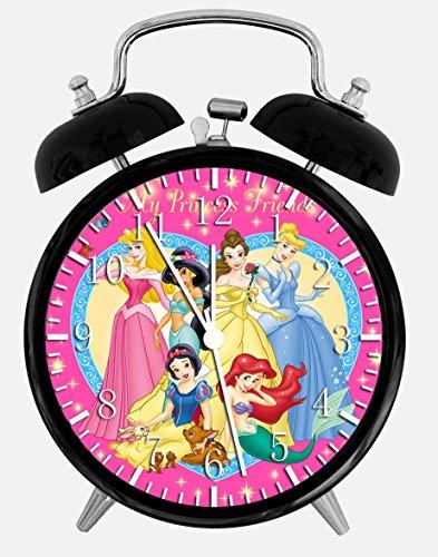 Disney Princess Alarm Clock (Disney Princess Alarm Desk Clock 3.75