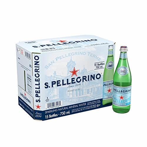 San Pellegrino Sparkling Mineral Water, 15 pk./25.3 oz. (pack of 6) by San Pellegrino