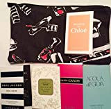 Womens Fragrance Sampler W/ Sephora Makeup Bag
