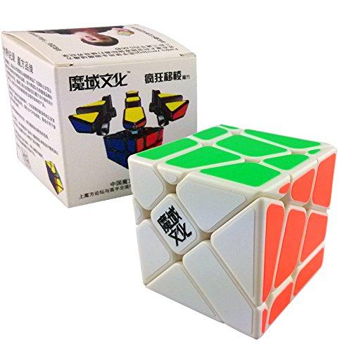 Yongjun Yj Moyu Crazy Fisher Speed Cube Puzzle White