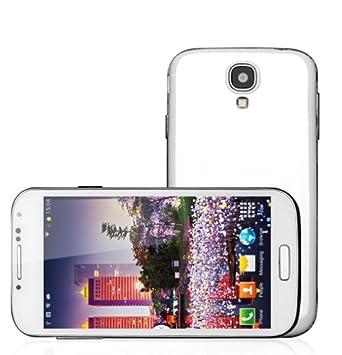 "Smartphone Android S4 - 5"" - Quad Core - 2GB RAM - 4GB - Blanco"