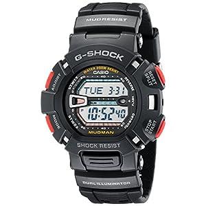 Casio G9000-1V - Reloj (Reloj de pulsera, Resina, Acero inoxidable, Negro, Resina, Negro, Mineral) 4