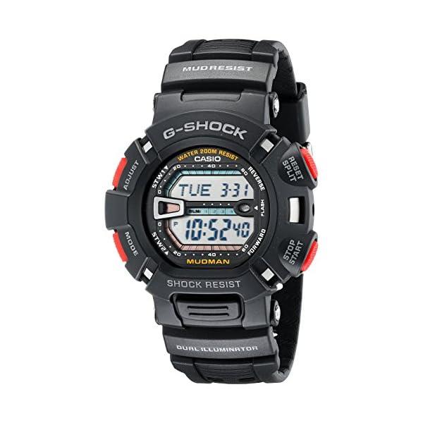 Casio G9000-1V - Reloj (Reloj de pulsera, Resina, Acero inoxidable, Negro, Resina, Negro, Mineral) 2