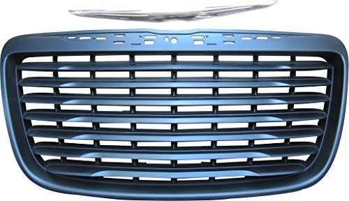 BUY N TRY Matt Black Grille for Chrysler 300C 2011-2014 with Modified Badge CH1200351