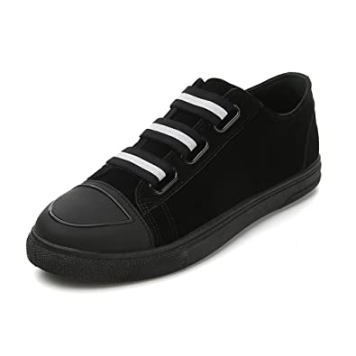 Espadrilles Mens Casual Shoes Outdoor Exercise Sneakers Lace-up Deck Shoes (Color : Black Size : 40)
