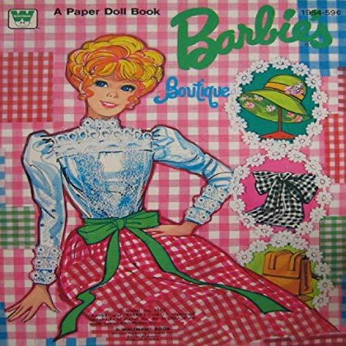 Barbie Barbie's Boutique Paper Doll Book (1973 Whitman)