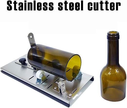 Máquina de corte de vidrio, cortador de botellas de acero ...