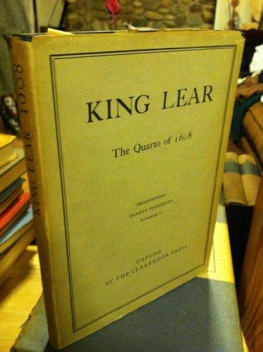 King Lear. 1608 ( Pied Bull Quarto)