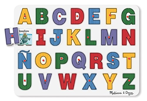 Melissa & Doug See-Inside Spanish Alphabet