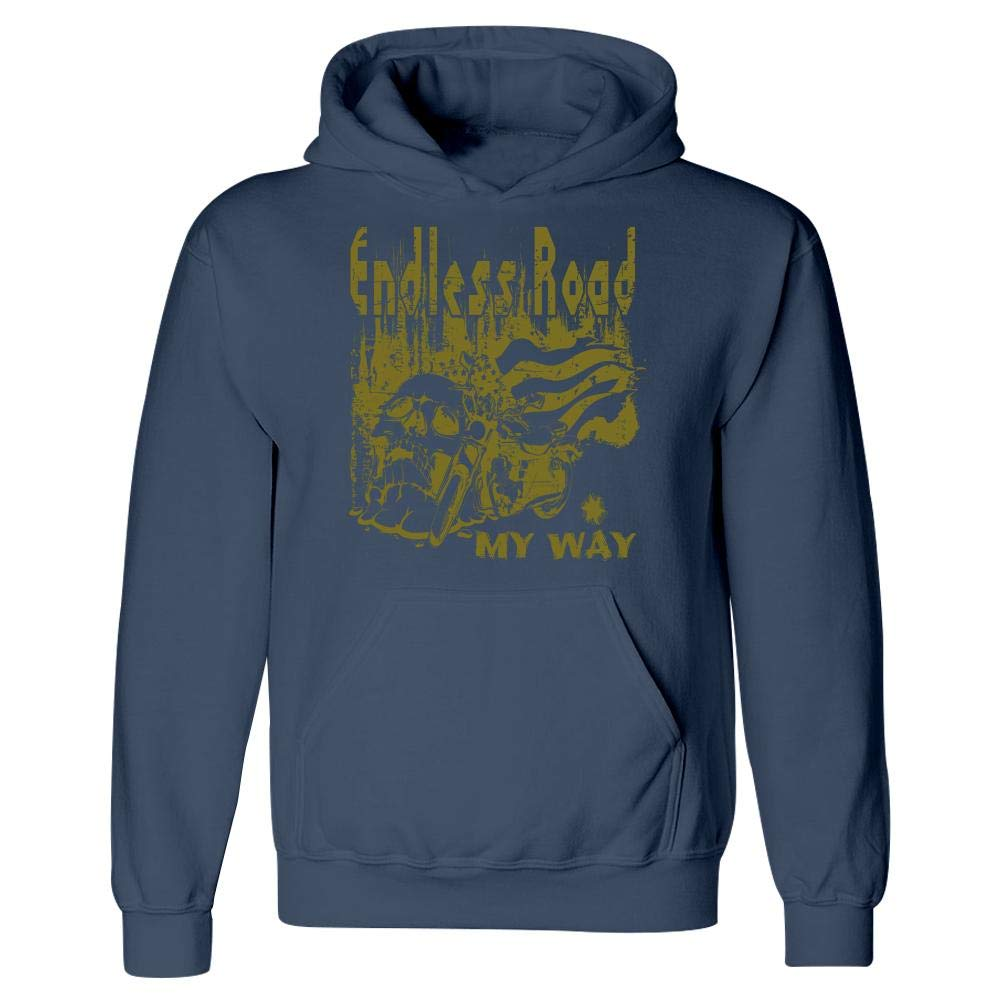 Endless Road Gold Dust Skull Design Hoodie Peyton Winks Vapor Doom