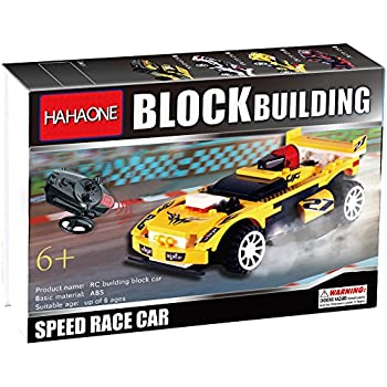 this item hahaone buildable rc cars building blocks race remote control toys electric rccars rc car for kids kids boy construction toys age 5 6 8