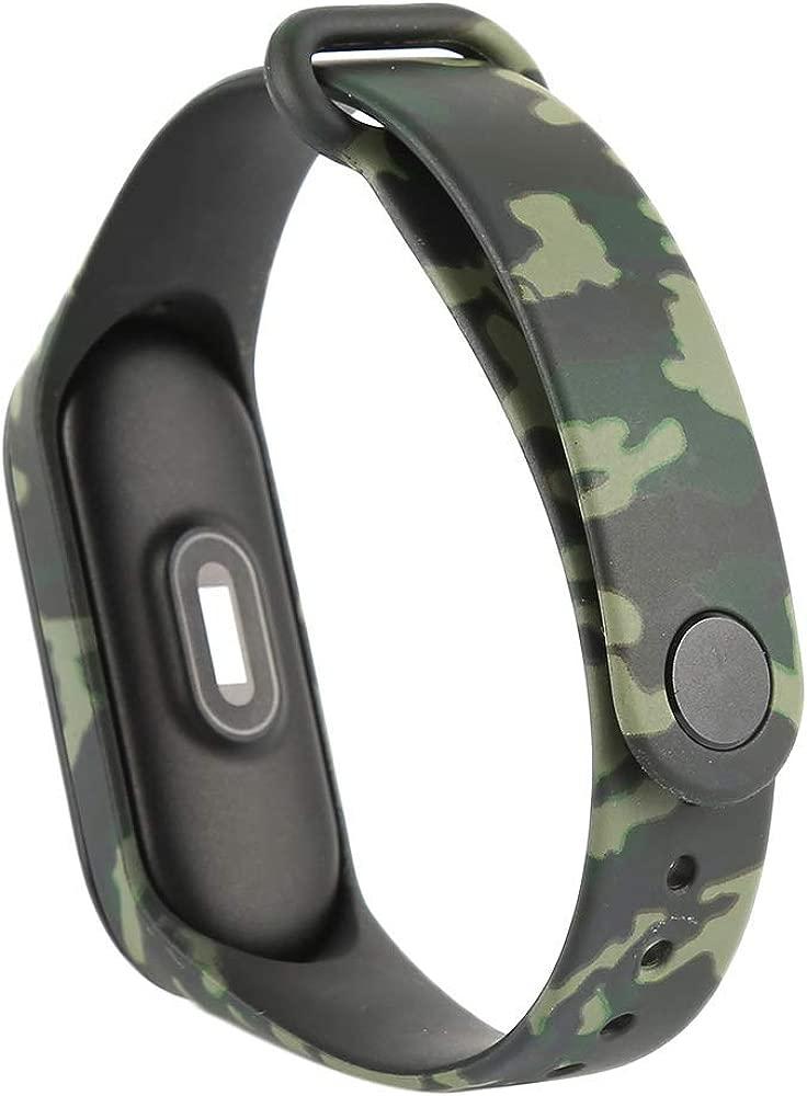 Recambio Camuflaje para Pulsera Actividad XIAOMI MI Band 3 SMARTWATCH MIBAND Correa Reloj