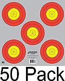 Archery 5 SPOT & 3 SPOT Vegas Targets by Longbow 8, 20, 50 & 200 Packs (5 Spot (50 Pack))