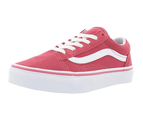 7a85011d88 Vans UY Old Skool Desert Rose True White Suede Youth Trainers  Amazon.es   Zapatos y complementos