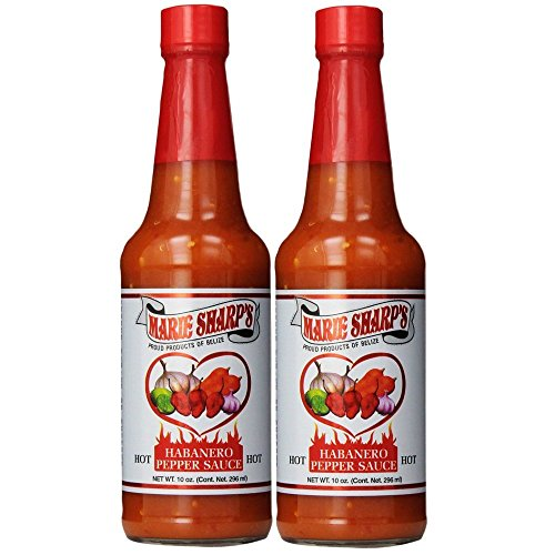 Marie Sharps Hot Sauce (Marie Sharp's Hot Sauce 10 Fl. Oz. (Pack of 2))