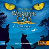 Warrior Cats - Special Adventure. Feuersterns Mission: Gelesen von Marlen Diekhoff, 6 CDs in der Multibox, 8 Std. 10 Min.