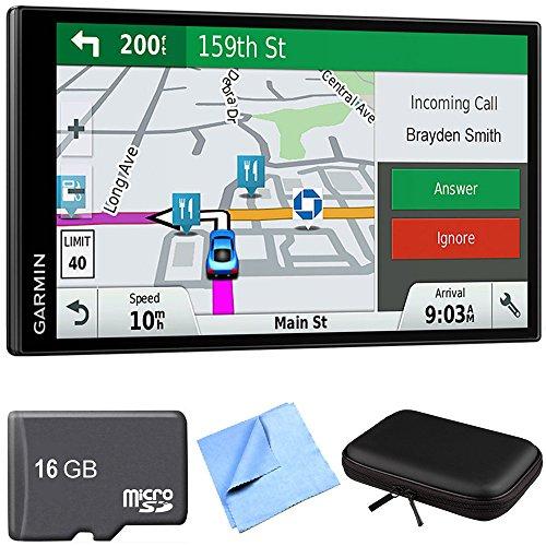 Garmin DriveSmart 61 NA LMT-S Advanced Navigation GPS with Smart Features Travel Bundle